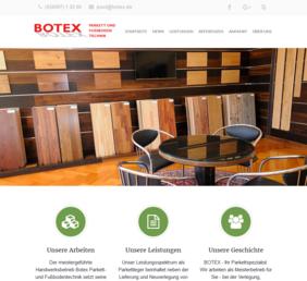Screenshot botex.de