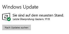 Windows Update Nach Updates suchen